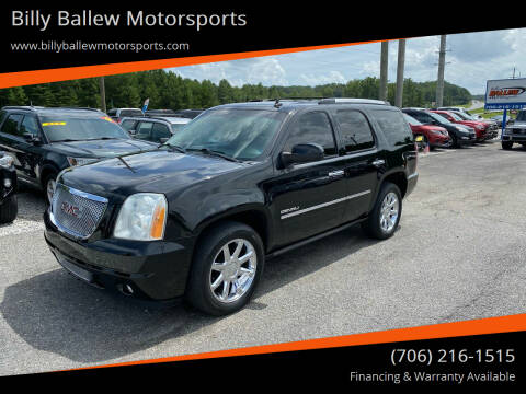 2011 GMC Yukon for sale at Billy Ballew Motorsports in Dawsonville GA