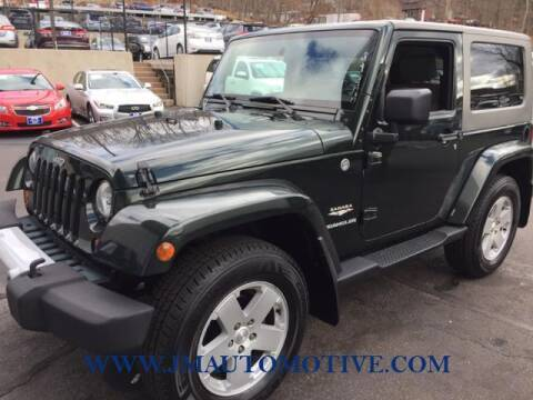 2010 Jeep Wrangler for sale at J & M Automotive in Naugatuck CT