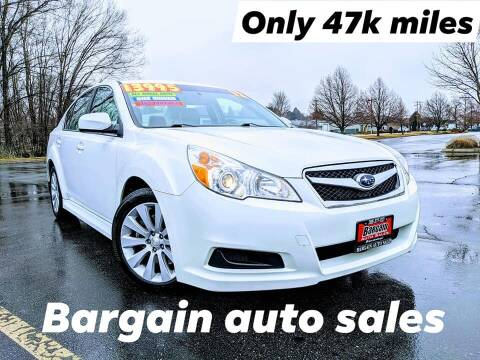 2012 Subaru Legacy for sale at Bargain Auto Sales LLC in Garden City ID