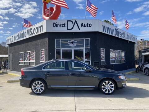 2016 Volvo S80 for sale at Direct Auto in D'Iberville MS