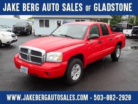 2005 Dodge Dakota for sale at Jake Berg Auto Sales in Gladstone OR