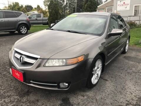 2008 Acura TL for sale at FUSION AUTO SALES in Spencerport NY