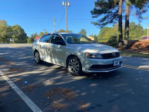 2015 Volkswagen Jetta for sale at THE AUTO FINDERS in Durham NC