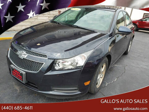 2014 Chevrolet Cruze for sale at Gallo's Auto Sales in North Bloomfield OH