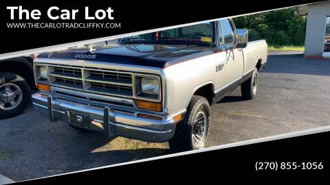 1987 Dodge RAM 150 for sale at The Car Lot in Radcliff KY