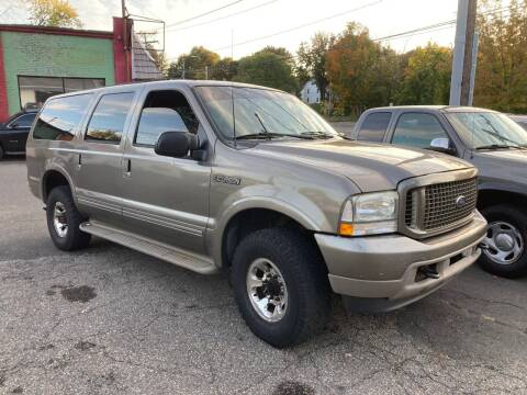 2003 Ford Excursion for sale at ENFIELD STREET AUTO SALES in Enfield CT