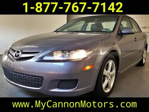2008 Mazda MAZDA6 for sale at Cannon Motors in Silverdale PA