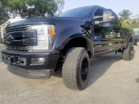 2017 Ford F-250 Super Duty for sale at M.D.V. INTERNATIONAL AUTO CORP in Fort Lauderdale FL