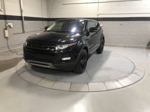 2013 Land Rover Range Rover Evoque Coupe for sale at Luxury Car Outlet in West Chicago IL