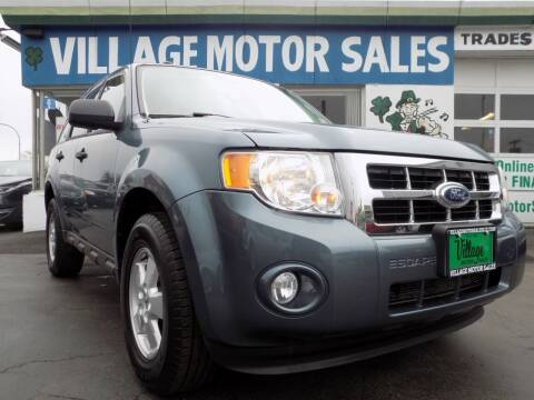 2010 Ford Escape for sale at Village Motor Sales in Buffalo NY