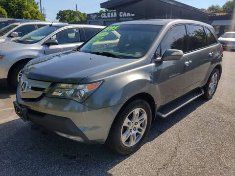 2009 Acura MDX for sale at DON BAILEY AUTO SALES in Phenix City AL