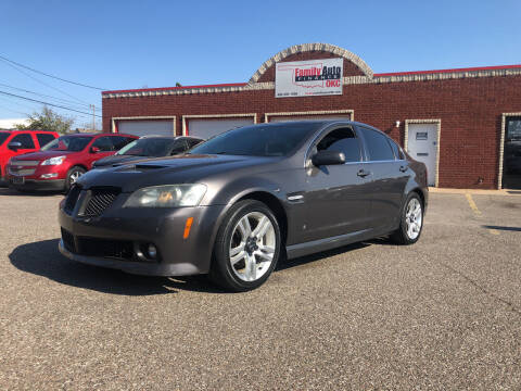 2008 Pontiac G8 for sale at Family Auto Finance OKC LLC in Oklahoma City OK