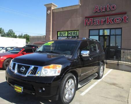 2012 Nissan Armada for sale at Auto Market in Oklahoma City OK