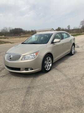 2011 Buick LaCrosse for sale at Hines Auto Sales in Marlette MI