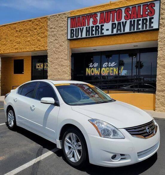 2012 Nissan Altima for sale at Marys Auto Sales in Phoenix AZ