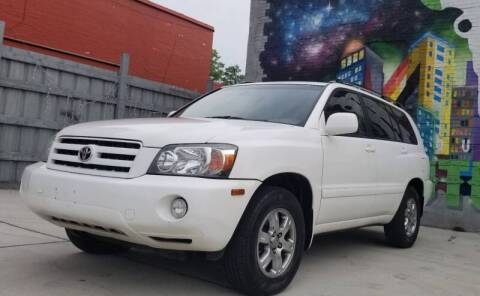 2005 Toyota Highlander for sale at Mr Cars LLC in Houston TX
