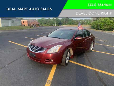 2010 Nissan Altima for sale at Deal Mart Auto Sales in Phenix City AL