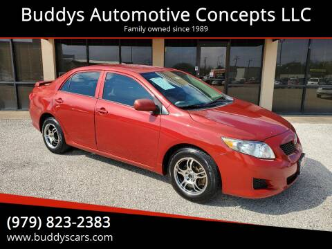 2009 Toyota Corolla for sale at Buddys Automotive Concepts LLC in Bryan TX