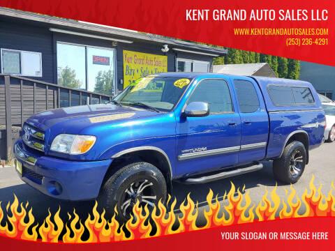 2006 Toyota Tundra for sale at KENT GRAND AUTO SALES LLC in Kent WA
