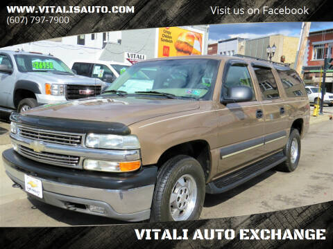 2003 Chevrolet Suburban for sale at VITALI AUTO EXCHANGE in Johnson City NY