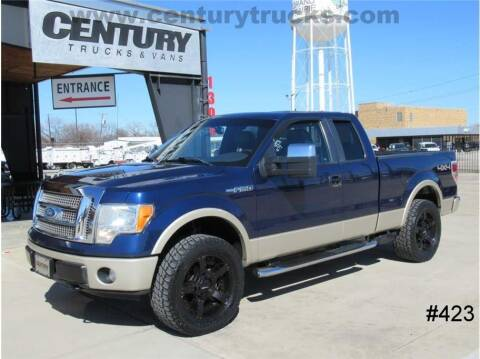 2009 Ford F-150 for sale at CENTURY TRUCKS & VANS in Grand Prairie TX
