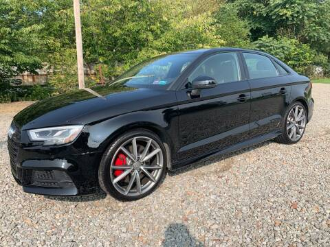 2018 Audi S3 for sale at Reds Garage Sales Service Inc in Bentleyville PA
