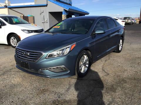 2015 Hyundai Sonata for sale at SPEND-LESS AUTO in Kingman AZ