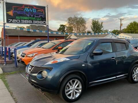 2012 Nissan JUKE for sale at AWD Denver Automotive LLC in Englewood CO
