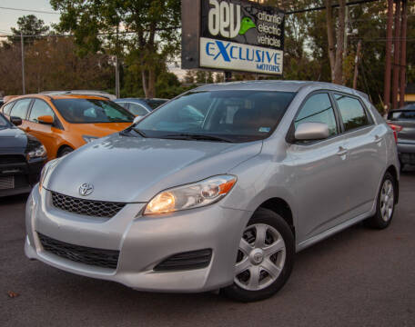 2009 Toyota Matrix for sale at EXCLUSIVE MOTORS in Virginia Beach VA