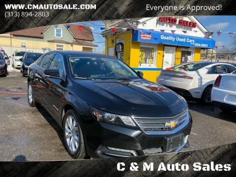 2019 Chevrolet Impala for sale at C & M Auto Sales in Detroit MI