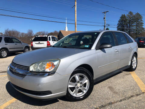 2005 Chevrolet Malibu Maxx for sale at J's Auto Exchange in Derry NH