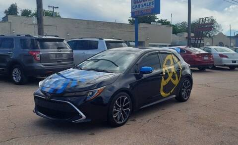 2019 Toyota Corolla Hatchback for sale at Suzuki of Tulsa - Global car Sales in Tulsa OK