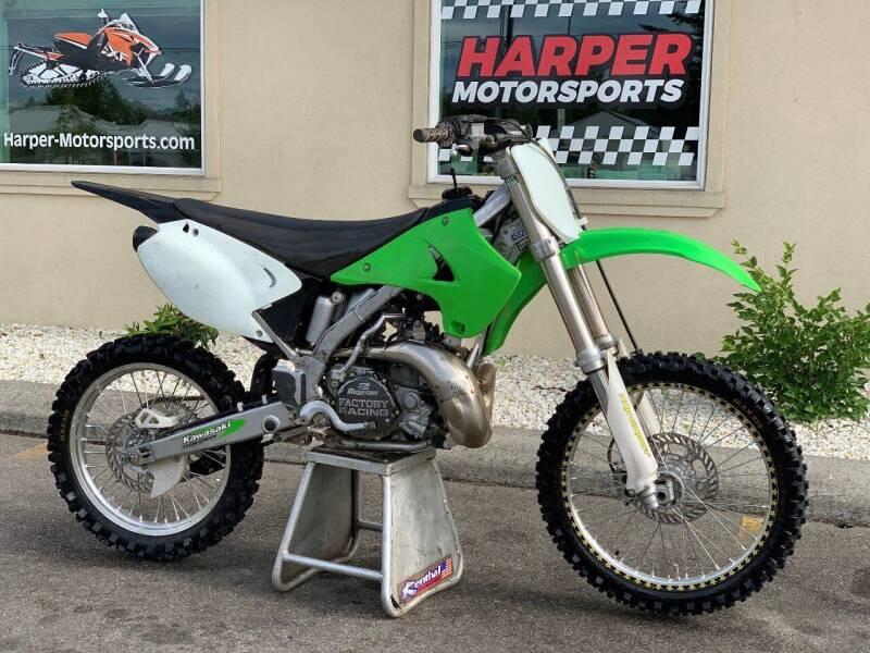2005 Kawasaki Kx250 2 stroke for sale at Harper Motorsports-Powersports in Post Falls ID