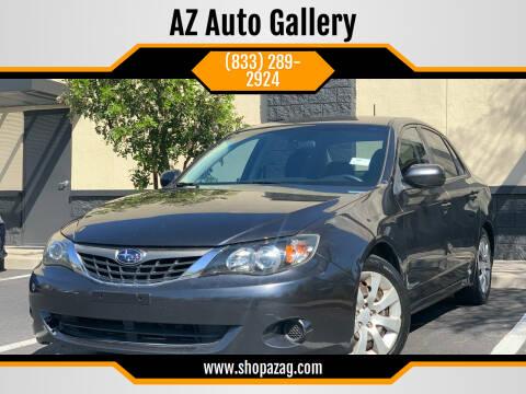 2009 Subaru Impreza for sale at AZ Auto Gallery in Mesa AZ