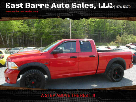 2012 RAM Ram Pickup 1500 for sale at East Barre Auto Sales, LLC in East Barre VT