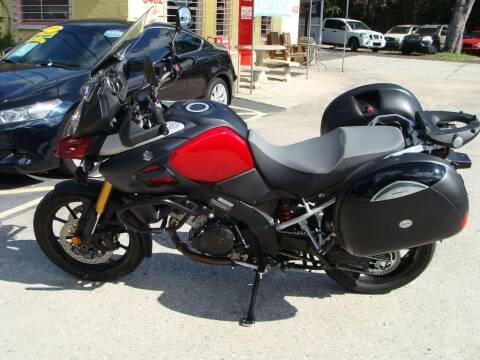 2014 Suzuki Vstrom for sale at VANS CARS AND TRUCKS in Brooksville FL