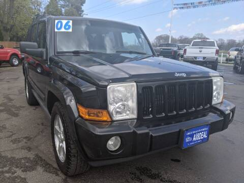 2006 Jeep Commander for sale at GREAT DEALS ON WHEELS in Michigan City IN