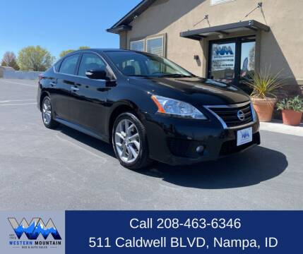 2015 Nissan Sentra for sale at Western Mountain Bus & Auto Sales in Nampa ID