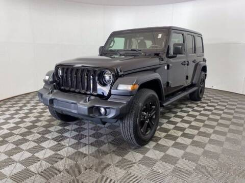 2020 Jeep Wrangler Unlimited for sale at BMW of Schererville in Schererville IN