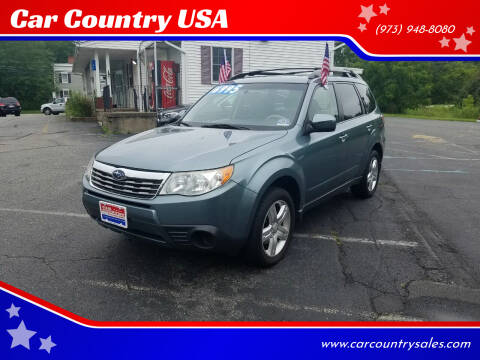 2009 Subaru Forester for sale at Car Country USA in Augusta NJ