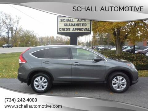 2012 Honda CR-V for sale at Schall Automotive in Monroe MI