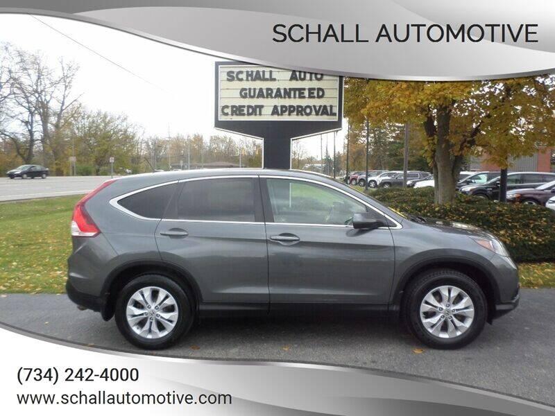 2012 Honda CR-V for sale at Schall Automotive in Monroe MI