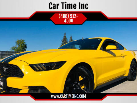 2015 Ford Mustang for sale at Car Time Inc in San Jose CA