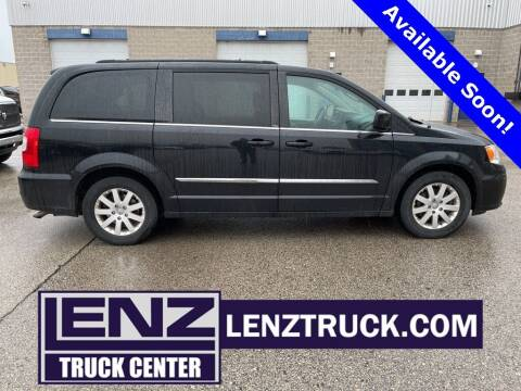 2014 Chrysler Town and Country for sale at LENZ TRUCK CENTER in Fond Du Lac WI
