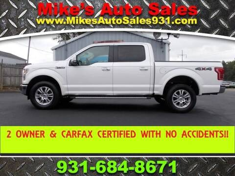 2015 Ford F-150 for sale at Mike's Auto Sales in Shelbyville TN