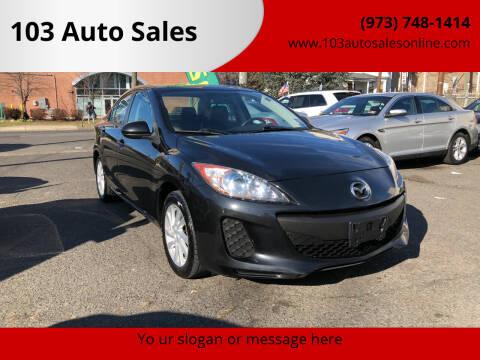 2012 Mazda MAZDA3 for sale at 103 Auto Sales in Bloomfield NJ