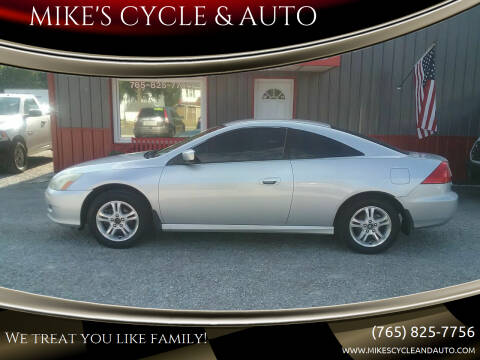 2006 Honda Accord for sale at MIKE'S CYCLE & AUTO - Mikes Cycle and Auto (Liberty) in Liberty IN