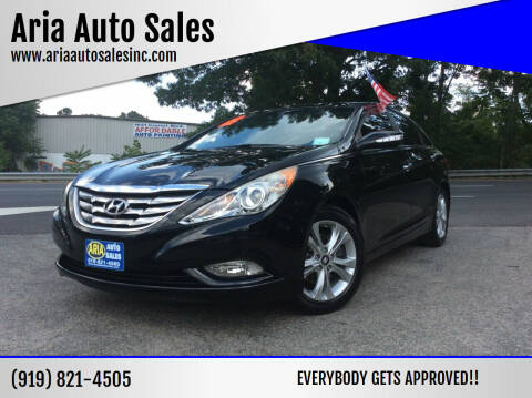 2012 Hyundai Sonata for sale at ARIA  AUTO  SALES in Raleigh NC