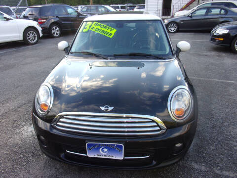 2013 MINI Hardtop for sale at Balic Autos Inc in Lanham MD