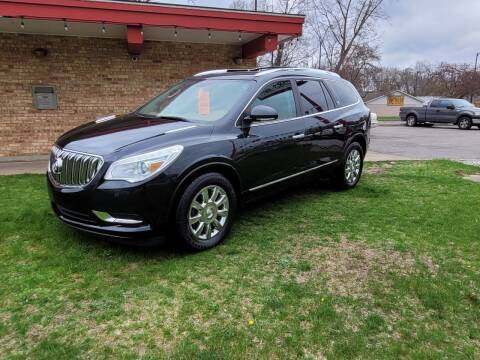 2013 Buick Enclave for sale at Murdock Used Cars in Niles MI